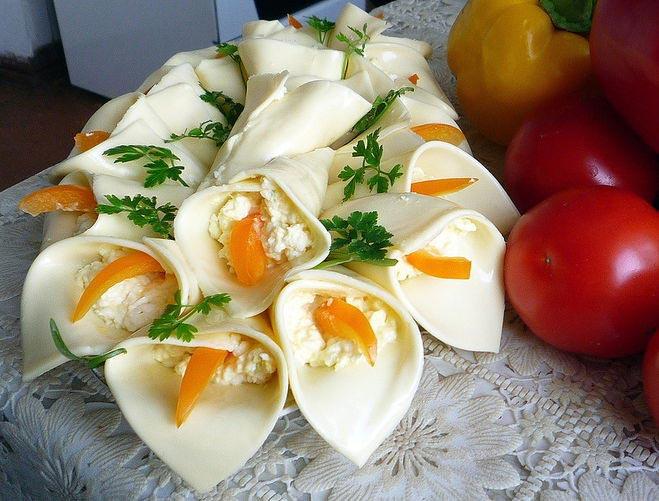 Сырные каллы просты в приготовлении. Фото с сайта cdn01.ru