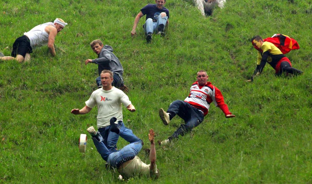 Праздник сыра и гонка с холма. Фото с сайта www.zoomnews.es