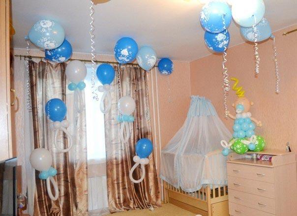 Шары - всегда беспроигрышный вариант. Фото с сайта kreativ-belka.com.ua