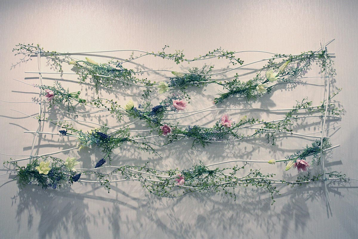 Картина из цветов. Фото с сайта www.drevo-spb.ru