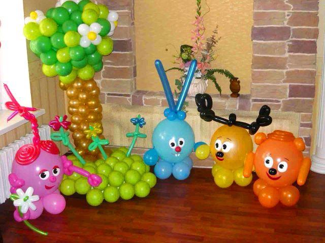 Смешарики будут интересны малышам. Фото с сайта duet.at.ua