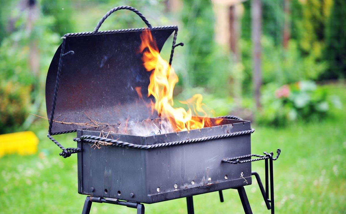 Насладитесь жареным мясом в парке. Фото с сайта small-house.ru