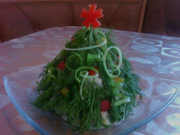 Новогодняя елка на столе. Фото с сайта fastpic.ru