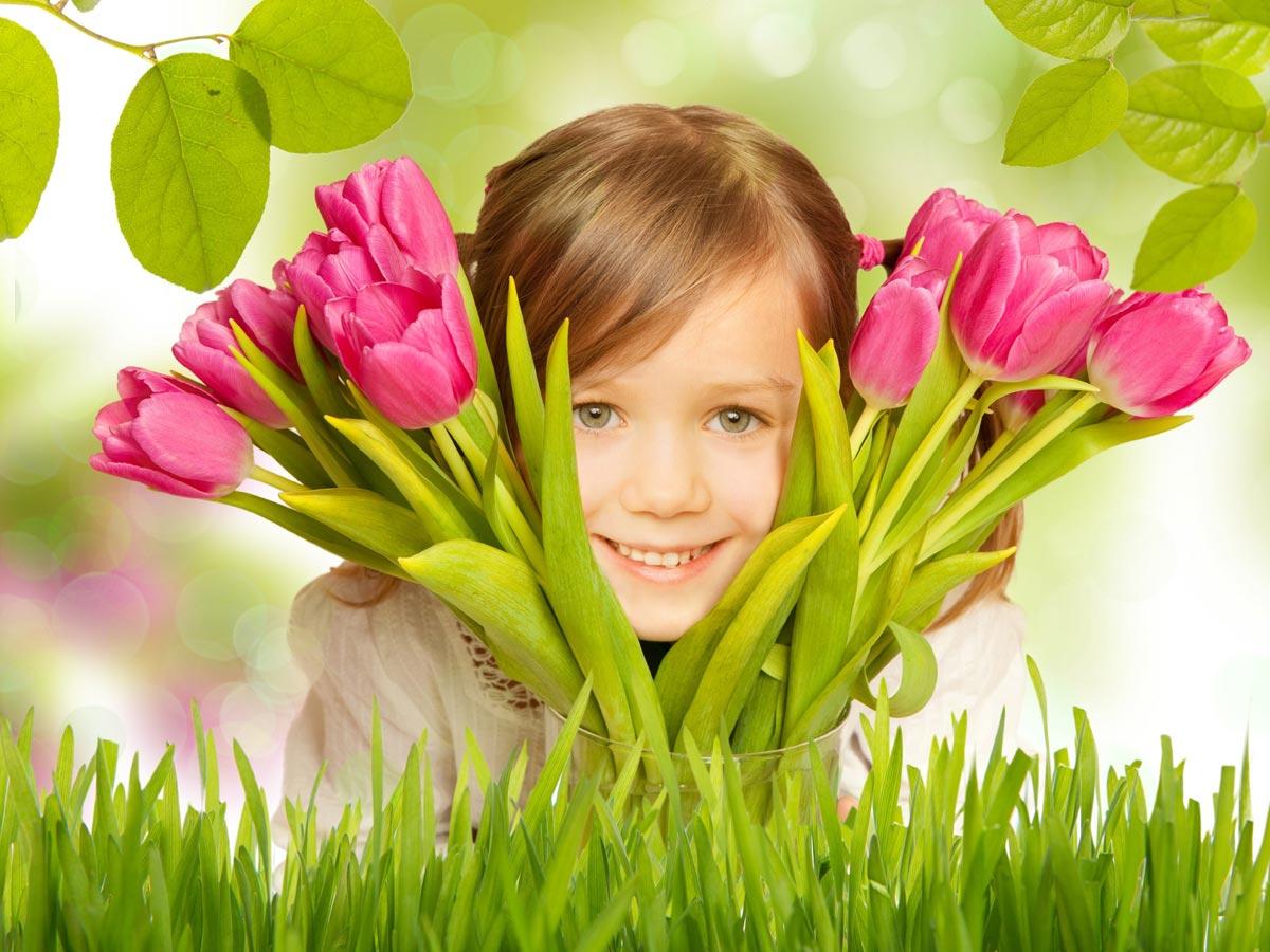 Подарки для самых маленьких на 8 Марта. Фото с сайта picsfab.com