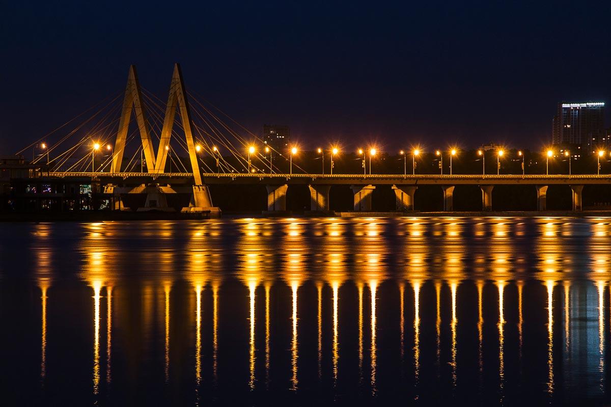 Казань ночью. Фото с сайта photosight.ru