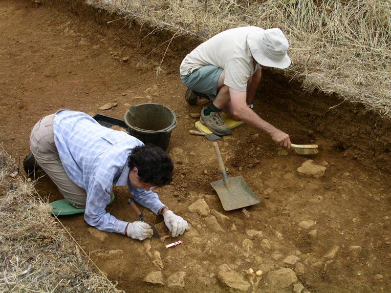 Археологические раскопки. Фото с сайта www.warmingtonheritage.com
