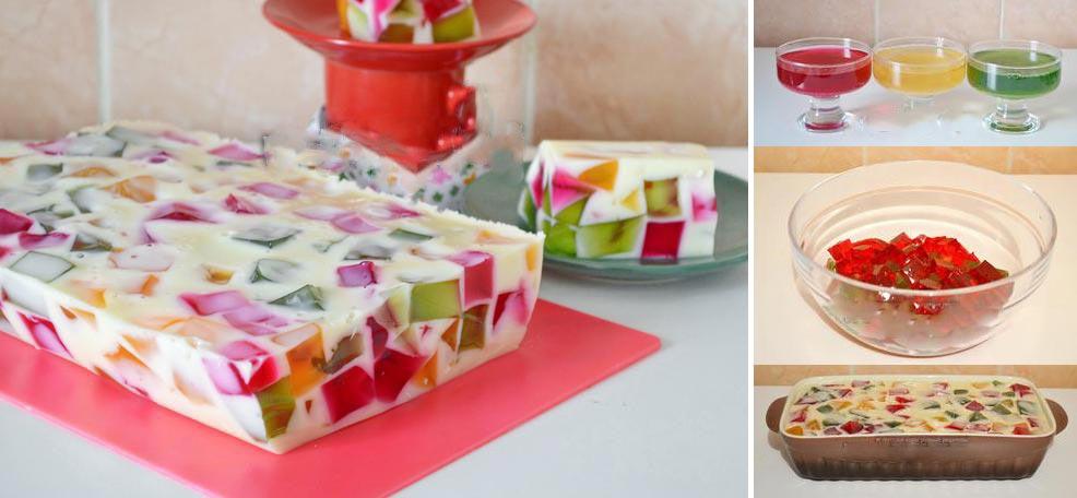 "Торт ""Битое стекло"" на день рождения ребенку. Фото с сайта webspoon.ru"