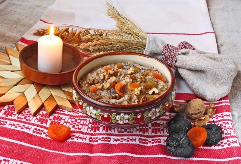 Блюда на Крещенский сочельник. Фото с сайта rich-baby.ru