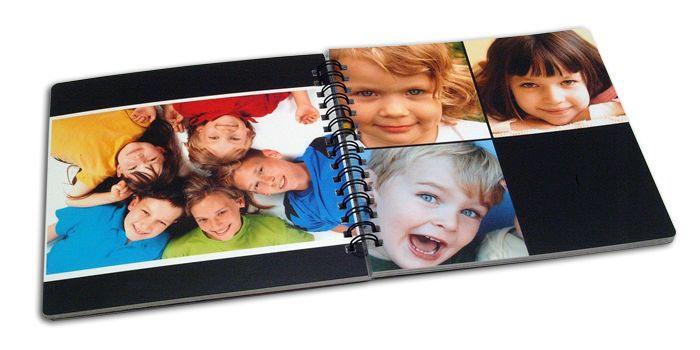 Попробуйте сделать фотокнигу своими руками. Фото с сайта simpalsmedia.com