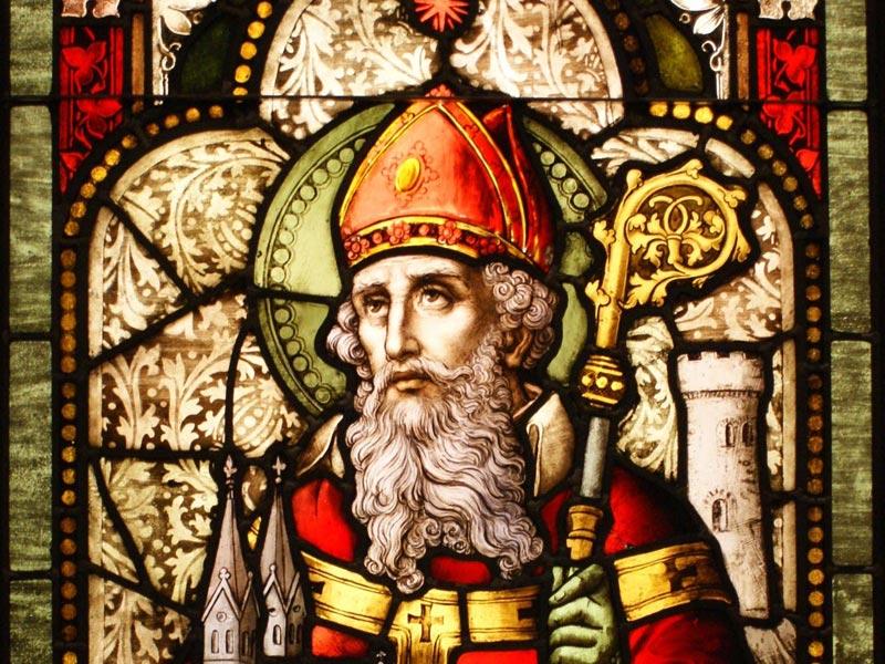 Святой Патрик. Фото с сайта thenicenenerd.com