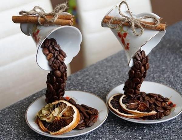 Парящая чашка с кофе – интересный декор дома и необычный подарок. Фото: ann.az