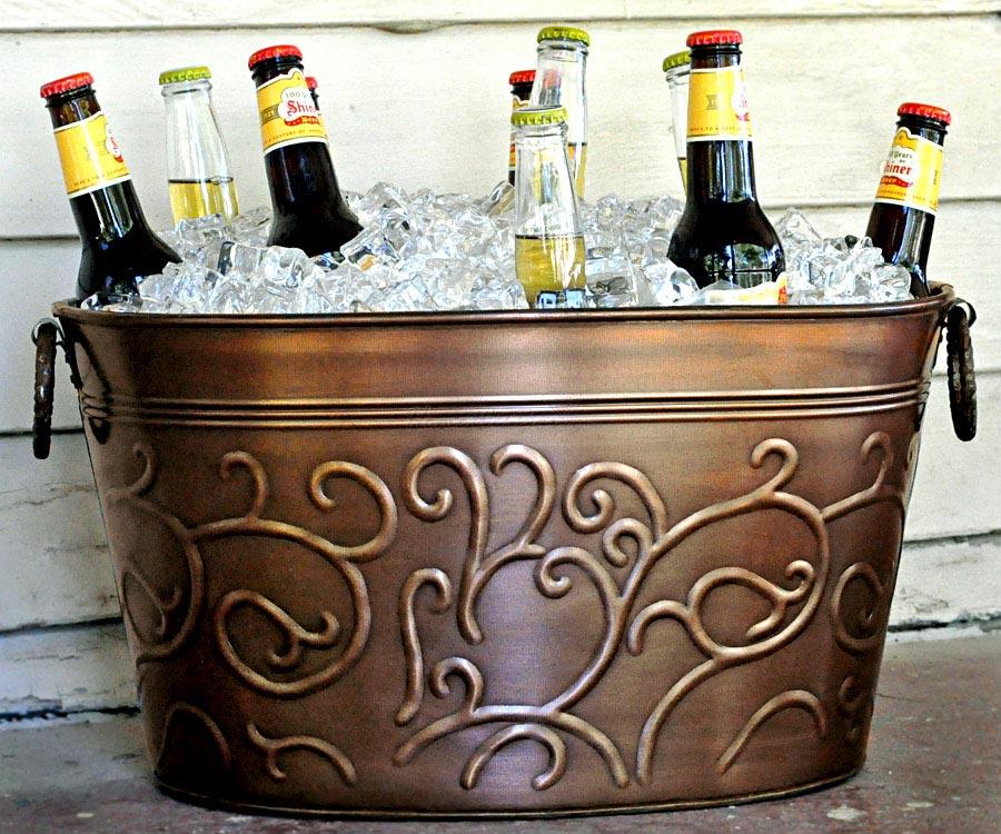 Стилизованное веселье. Фото с сайта www.homewetbar.com