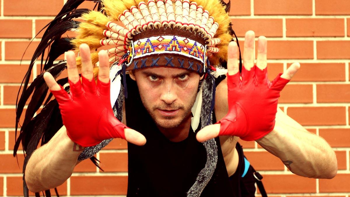 Индейская вечеринка. Фото с сайта www.nastol.com.ua