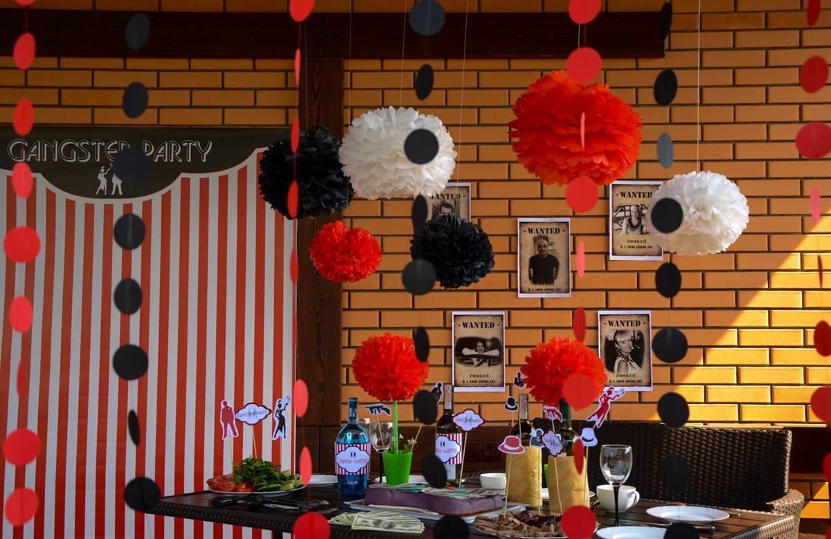 Яркие украшения из бумаги. Фото с сайта bomondkrasota.ucoz.ru