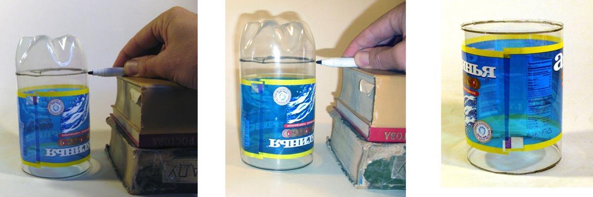 Вам потребуется пластиковая бутылка для шара-сюрприза. Фото с сайта tkalez.com