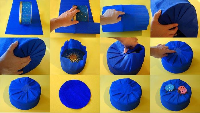 Упаковка подарка сложной формы. Фото с сайта ardora.ru