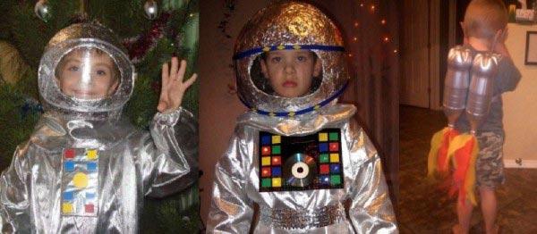 Костюм космонавта для ребенка. Фото с сайта banquettes.ru