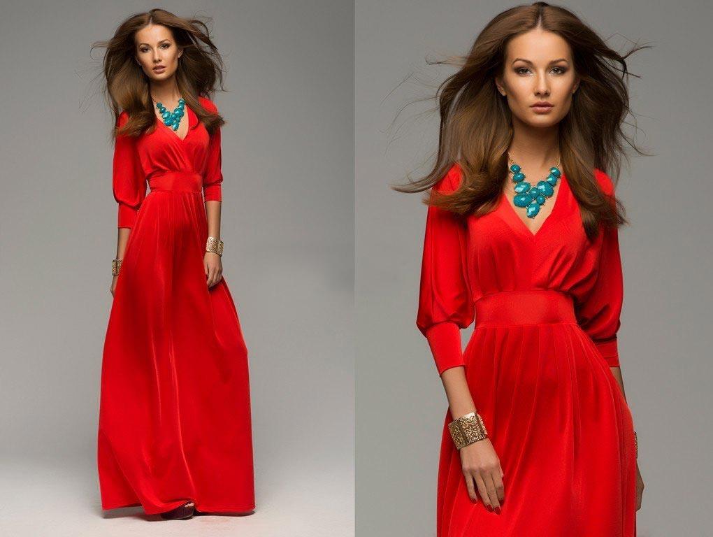 Красное платье выбирают уверенные в себе леди. Фото с сайта vse.kz