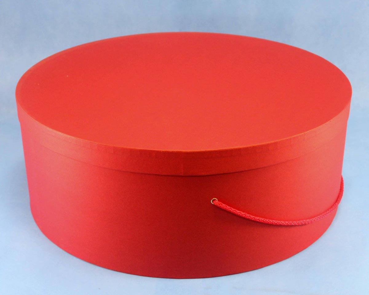 Круглая коробка для торта. Фото с сайта www.fabrika-dec.ru