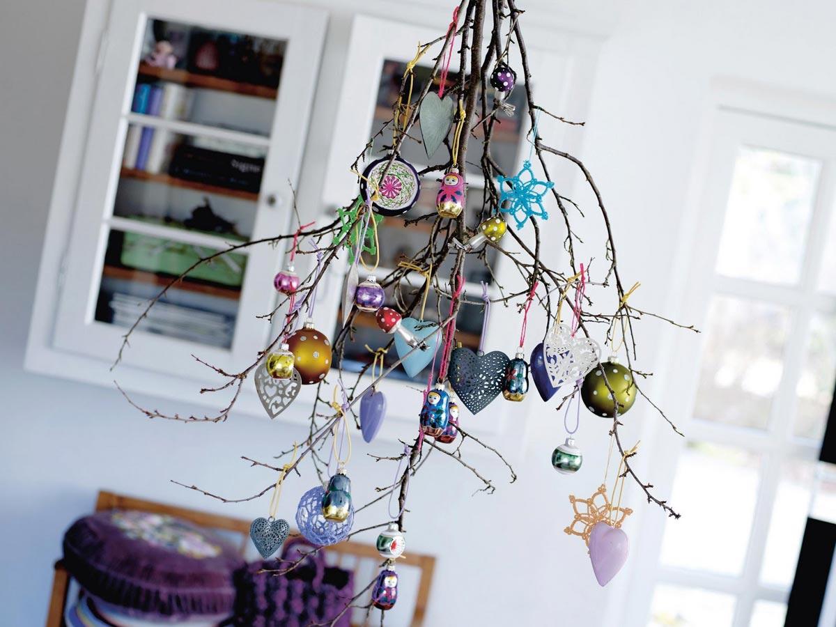 Вместо новогодней елки. Фото с сайта blog.evdebir.com