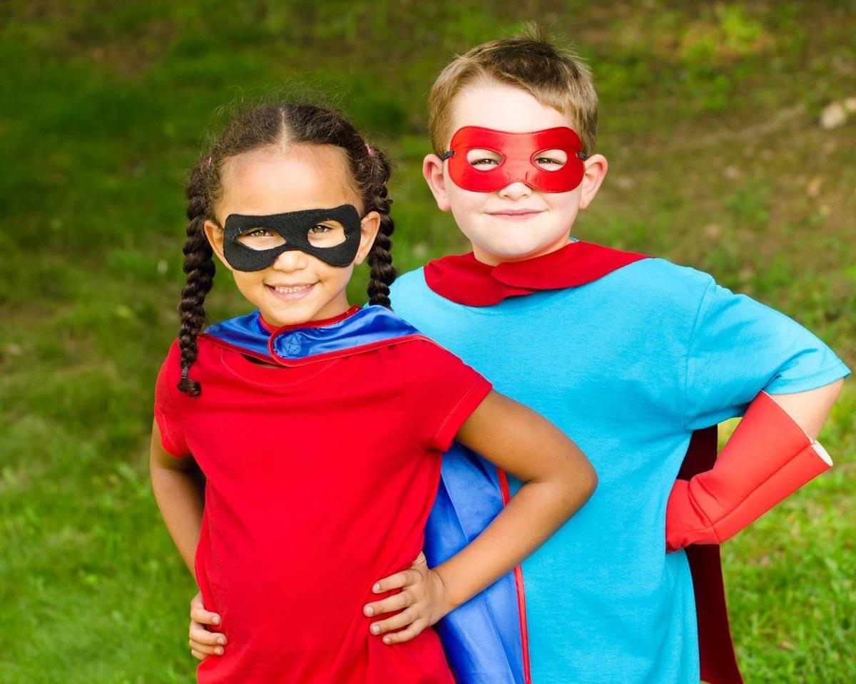 Вечеринка супергероев. Фото с сайта bigbigbaby.org