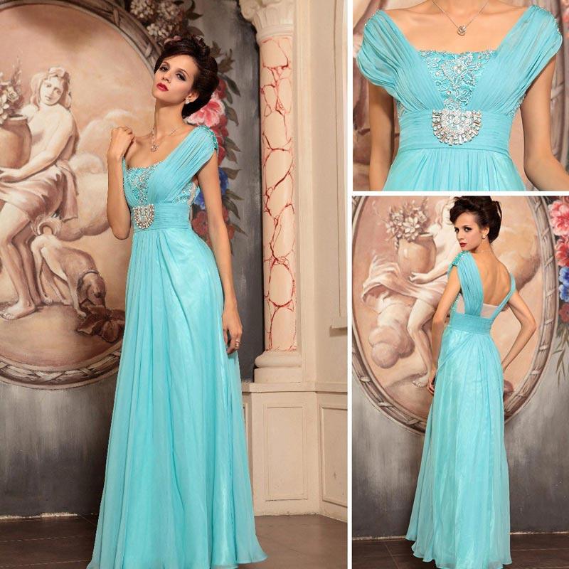 Очаровательное голубое платье. Фото с сайта www.promgirlau.com \