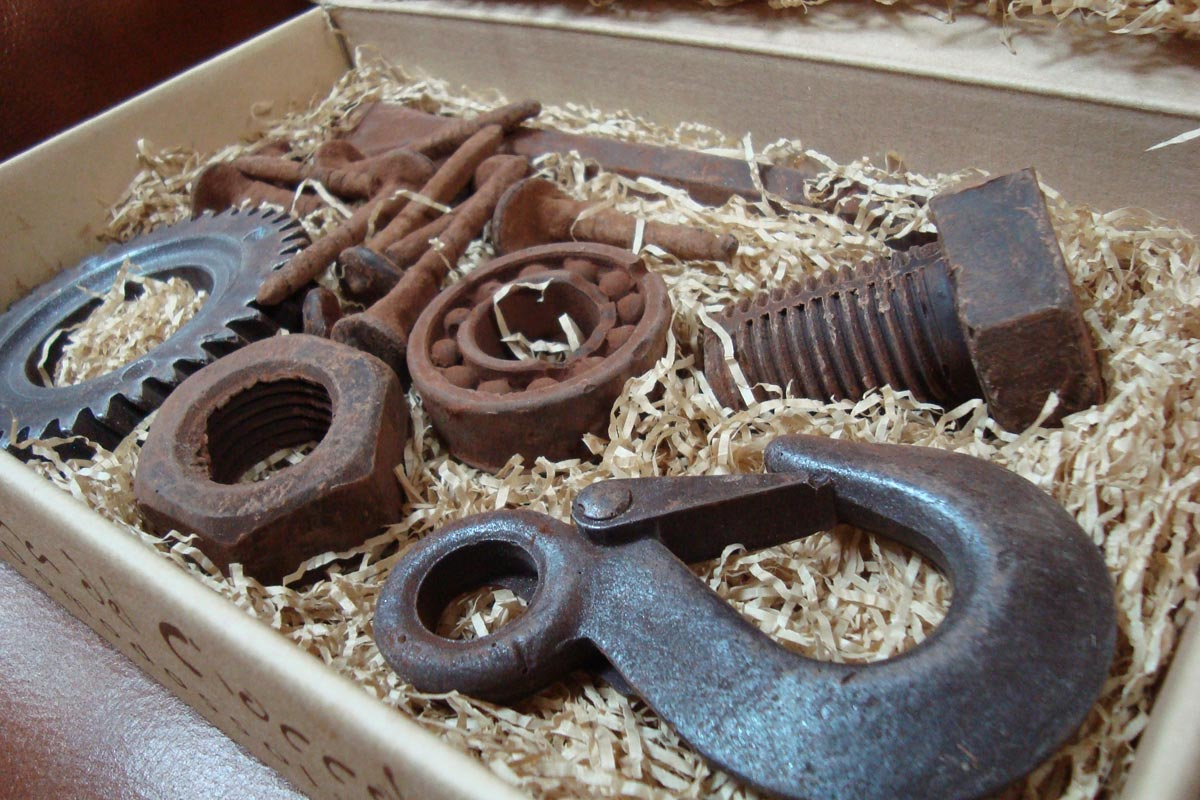 Фигурный шоколад. Фото сайта adme.ru