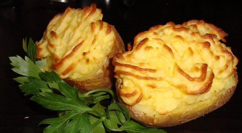 Картофельные розочки. Фото с сайта www.tvcook.ru