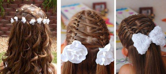 Разнообразные прически взрослеющей школьницы. Фото с сайта webdiana.ru