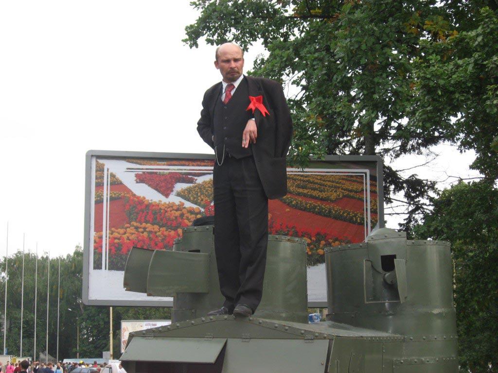 Двойник Ленина. Фото с сайта bvf.ru