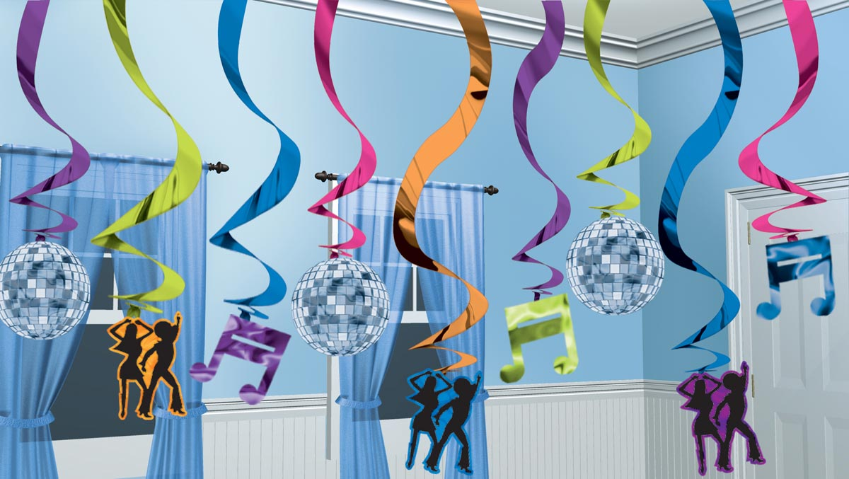 Тематический декор для вечеринки. Фото с сайта eparty.gr