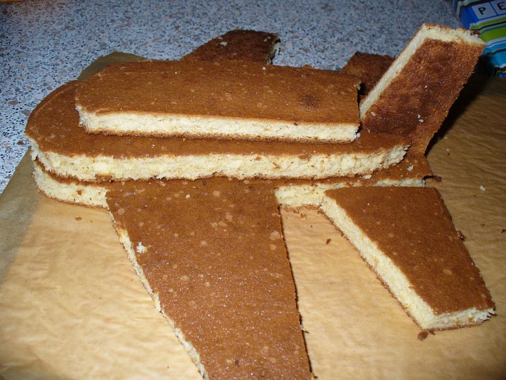 Торт-самолет своими руками. Фото с сайта xarchevnya.ru