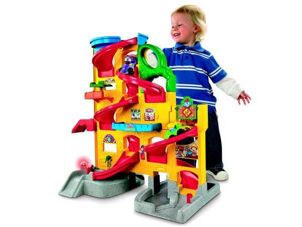 Интересная игровая площадка для малыша. Фото с сайта livejournal.com