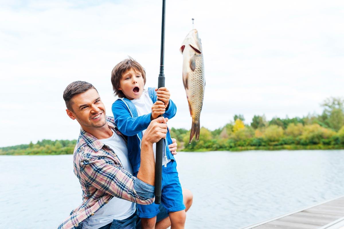Проведите время с отцом. Фото с сайта blog.discoverboating.com