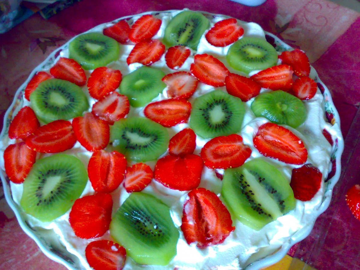 Торт без выпечки на день рождения