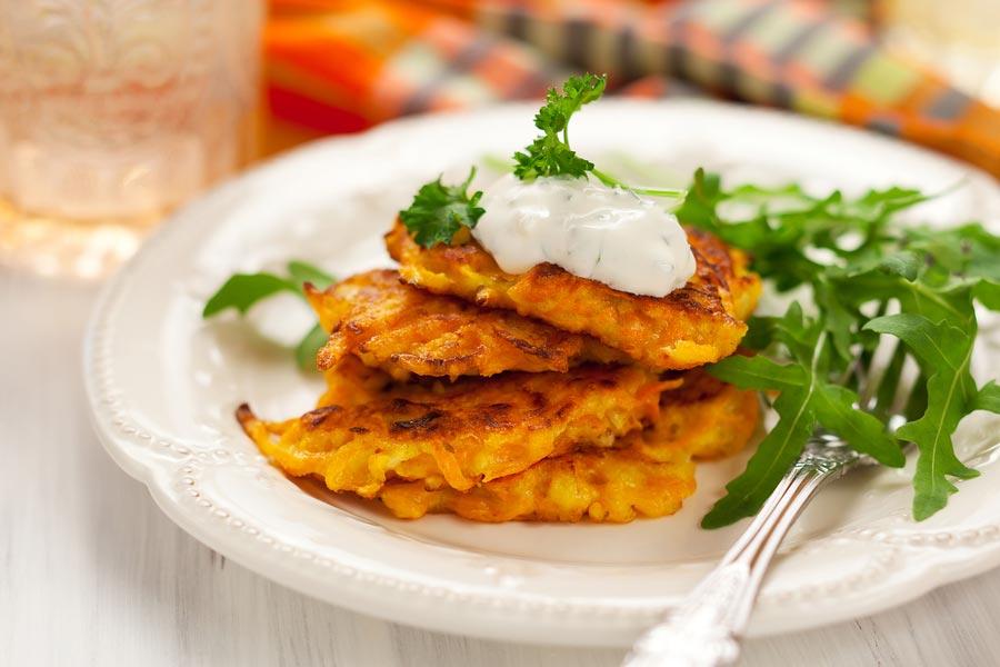 Вкусные овощные оладьи. Фото с сайта bigcommerce.com