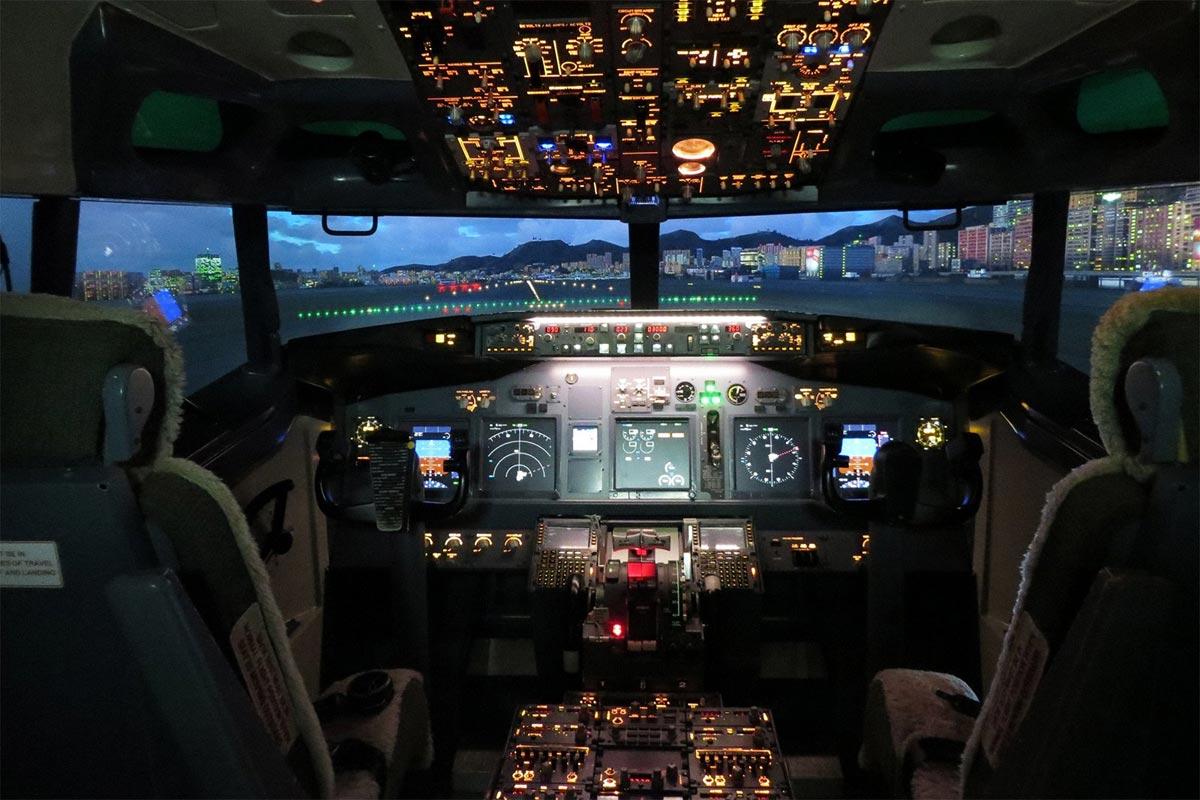 Побывайте в настоящей кабине пилота. Фото с сайта www.oddviser.com