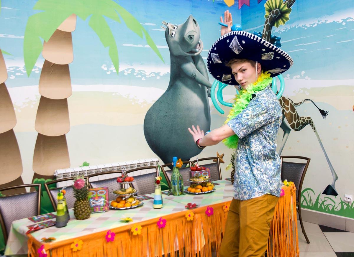 Детям вечеринка тоже понравится. Фото с сайта www.zebracenter.ru