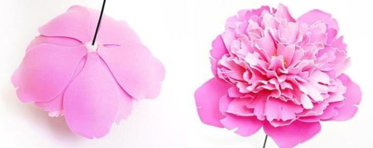 Цветы из фоамирана своими руками 25