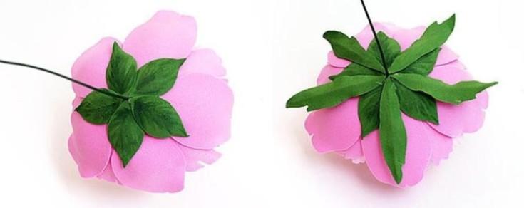Цветы из фоамирана своими руками 27