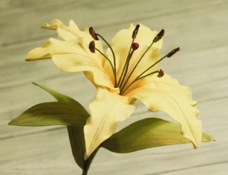 Цветы из фоамирана своими руками 44