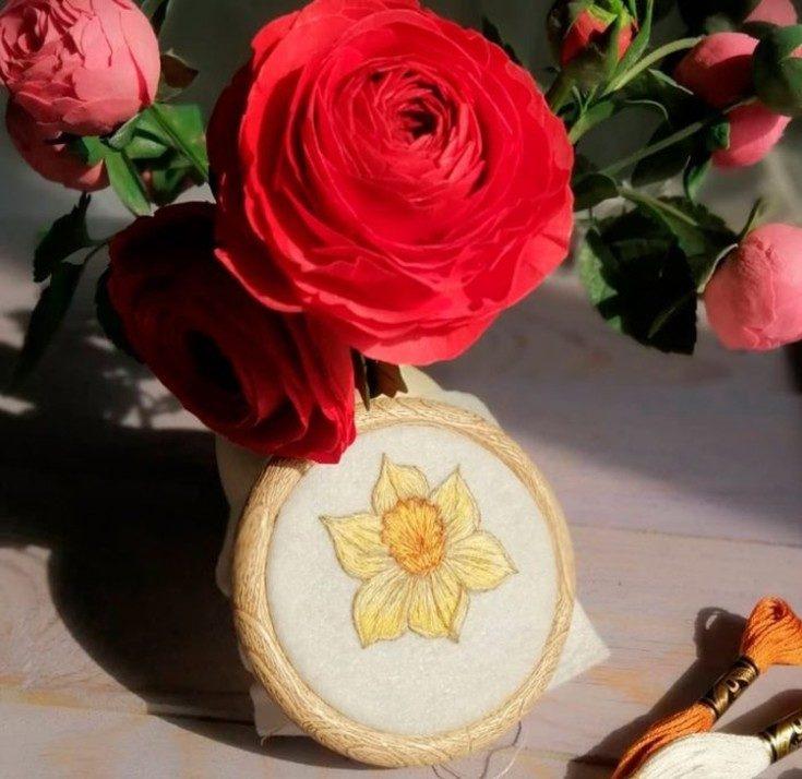 Цветы из фоамирана своими руками 48