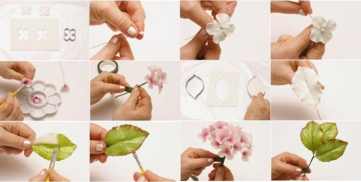 Цветы из фоамирана своими руками 51