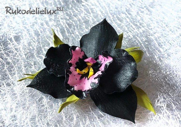 Цветы из фоамирана своими руками 55