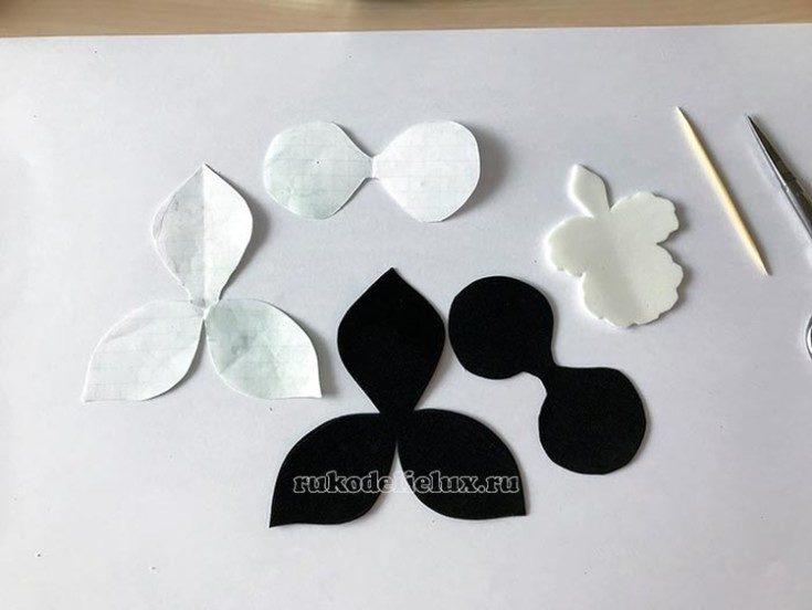 Цветы из фоамирана своими руками 56