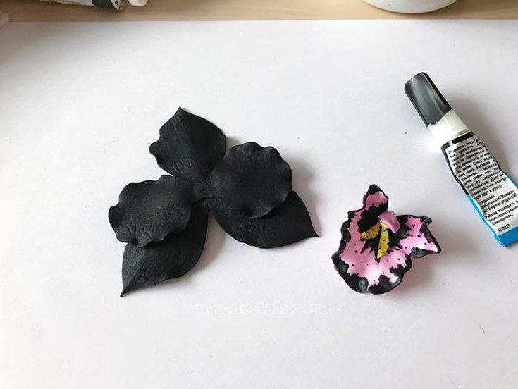 Цветы из фоамирана своими руками 60