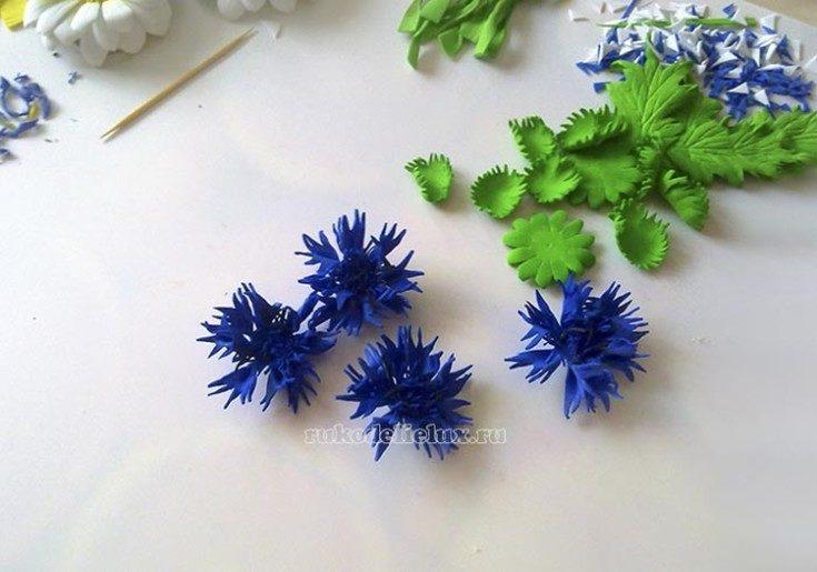 Цветы из фоамирана своими руками 85