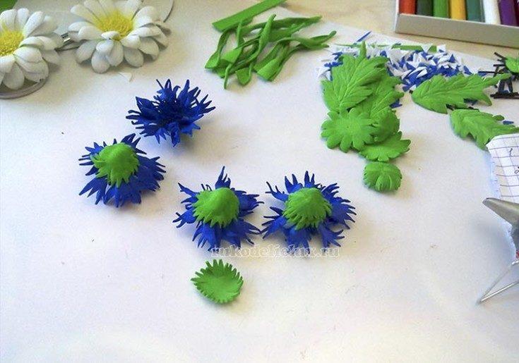 Цветы из фоамирана своими руками 87