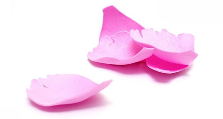 Цветы из фоамирана своими руками 17