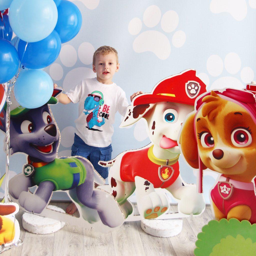 Детские фотозоны на день рождения 15